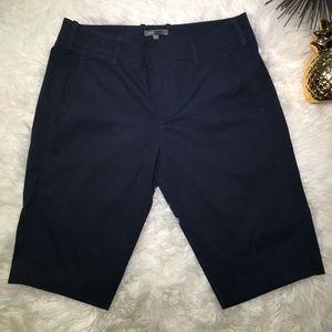Vince Blue Bermuda Capri Size 10